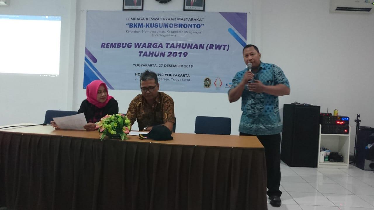 REMBUK WARGA TAHUNAN BKM KUSUMOBRONTO 2019