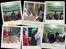Pelatihan Kampung Agro Kelurahan Brontokusuman tahun 2021
